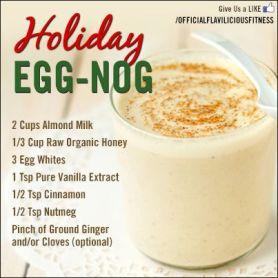 healthy eggnog