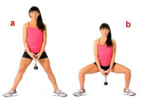 how to do a sumo squat