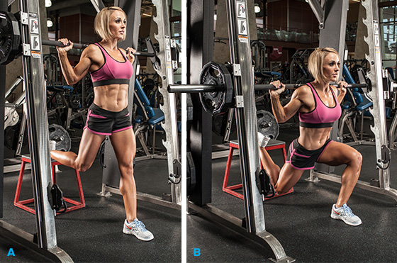 Nutrition Fx Smith Machine Squats