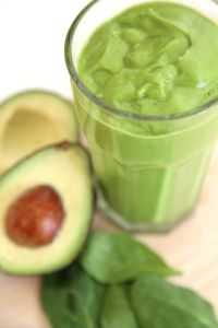Energy-Boosting Avocado Spinach Smoothie